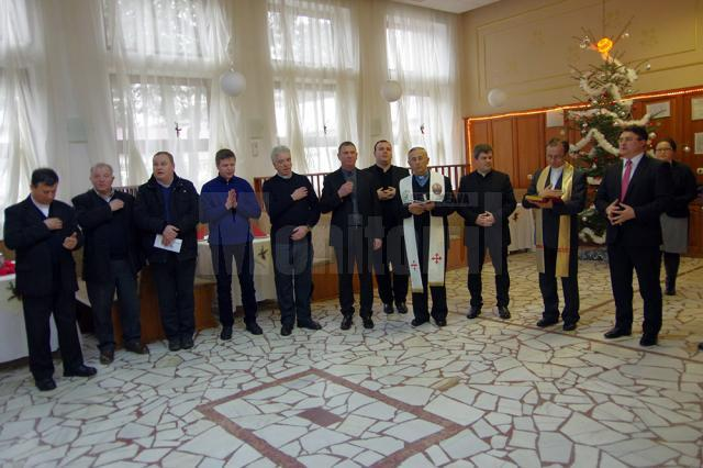 Împărţirea cu opłatek, un moment de reuniune al unei mari familii multiculturale şi multilingvistice din spaţiul bucovinean
