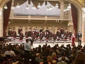 Elevii de la Vicovu de Sus, pe scena Ateneului Român