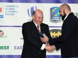 Viorel Lucaci a fost desemnat cel mai bun jucător din primul eşalon al României, SuperLiga