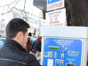 Aparatele de autotaxare pentru cele trei parcări cu plată ale Primăriei Suceava au fost ieri date în folosinţă