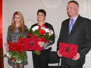 Cei trei cetăţeni de onoare