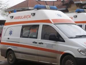 La faţa locului s-a deplasat un echipaj din cadrul Serviciului de Ambulanţă Judeţean