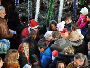 Moş Crăciun la Biserica Sf Ilie