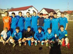 Lotul echipei de juniori A de la LPS Suceava, pregătită de Marius Lup
