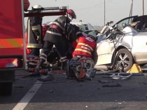 În accidentul de anul trecut, Dragoş se afla pe scaunul din faţă al pasagerului, iar soţia sa la volan