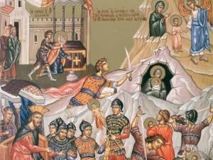 Sfinții 14.000 de prunci uciși din porunca lui Irod