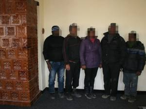 Cinci srilankezi care intraseră ilegal pe teritoriul ţării noastre au fost reţinuţi de poliţiştii de frontieră suceveni