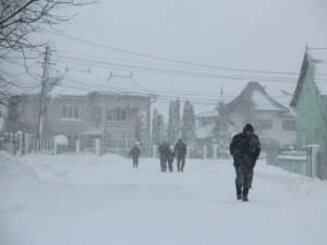 Informare meteo de ninsori în judeţul Suceava