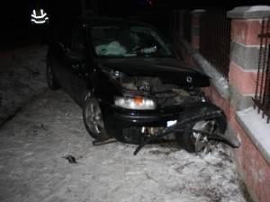 Maşină implicată în accidentul mortal