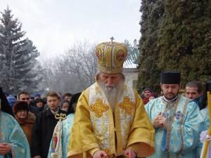Slujba Bobotezei la Mănăstirea Sf. Ioan cel Nou