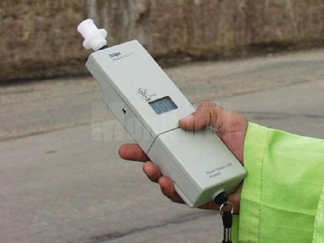 Conducătorul auto a fost testat cu aparatul alcooltest, rezultatul fiind de 0,42 mg/l alcool pur în aerul expirat