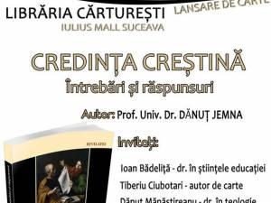 Lansare de carte la Librăria Cărtureşti Suceava