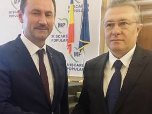 Candidatura lui Marian Andronache este susţinută de prim-vicepreşedintele Mişcării Populare, Cristian Diaconescu