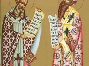 Sfinţii Ierarhi Atanasie şi Chiril, campioni ai ortodoxiei