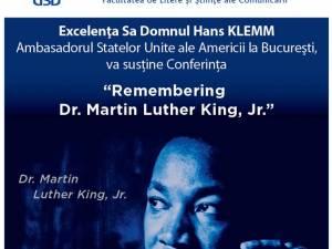 Ambasadorul va susține un discurs despre viața și activitatea lui Martin Luther King Jr.