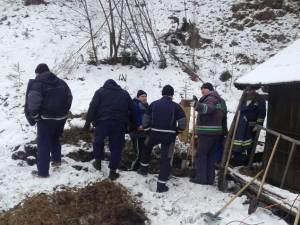 Echipele Transgaz au identificat tronsonul de conductă care ar putea fi blocat de un dop de gheaţă