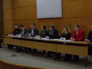 Conferinţa de presă, organizată miercuri, 20 ianuarie, la Sala Mică a Casei de Cultură Suceava