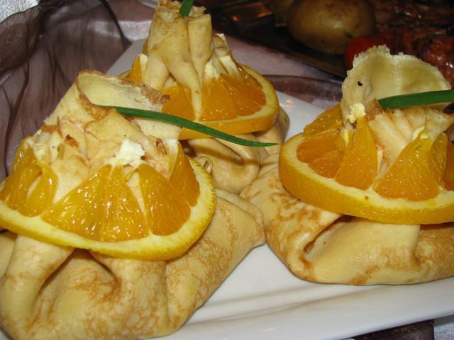 Tășcuțe cu portocale