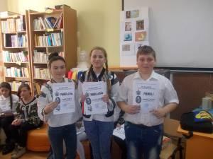 """Sărbătorirea Unirii la Şcoala Gimnazială """"Dimitrie Păcurariu"""" din Şcheia"""