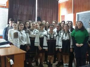 Sărbătoarea Unirii la Liceul Tehnologic Cajvana