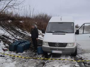 Ucrainenii au furat motorină din locomotiva unui tren