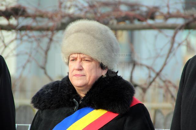 Primarul oraşului Dolhasca, Maria Cojocariu