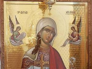 Pomenirea Sfintei Muceniţe Agata