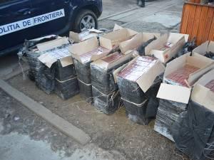 Judeţul Suceava, poartă de intrare importantă pentru ţigările de contrabandă