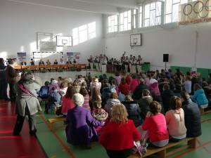 """Proiectul """"10 pentru folclor"""" a debutat ieri, la Şcoala Gimnazială Nr. 3 din Suceava"""