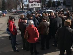Protestul foştilor angajaţi de la Termica