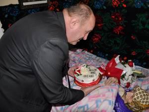 Veronica Chiuchiuşan, sărbătorită de autorităţi la împlinirea vârstei de 100 de ani
