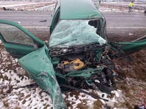 Accidentul rutier în care a fost implicat tânărul pe data de 4 februarie a.c.