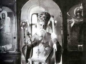 Sf. Nectarie într-o imagine surprinsă din timpul vieţii