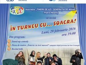 """Spectacol de folk, teatru şi stand-up comedy, la Universitatea """"Ştefan cel Mare"""""""
