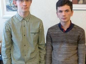 Raul-Alexandru Hănțăscu şi Tudor Andronic sunt în clasa a X-a