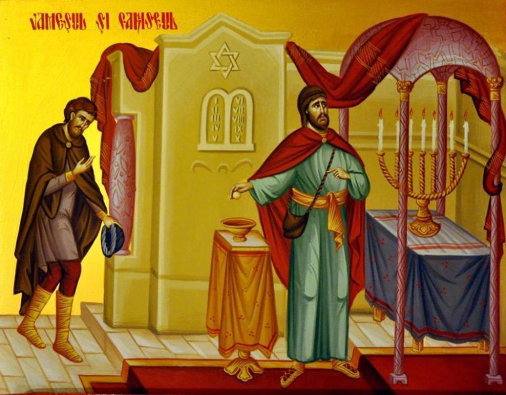 Imagini pentru pilda vameșului și a fariseului