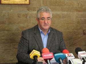 Primarul Ion Lungu, iniţiatorul proiectului de asociere între municipiul Suceava şi Clubul Sportiv Universitar din Suceava