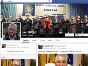 Primarul Ion Lungu şi-a făcut pagină de Facebook