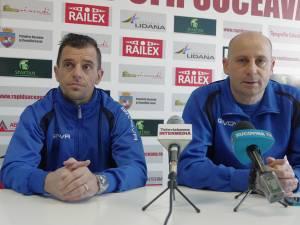 Dorin Semeghin şi Costel Ilie sunt încrezători că Rapidul poate face o figură frumoasă în sezonul de primăvară