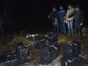 Contrabandiştii prinşi de poliţiştii de frontieră