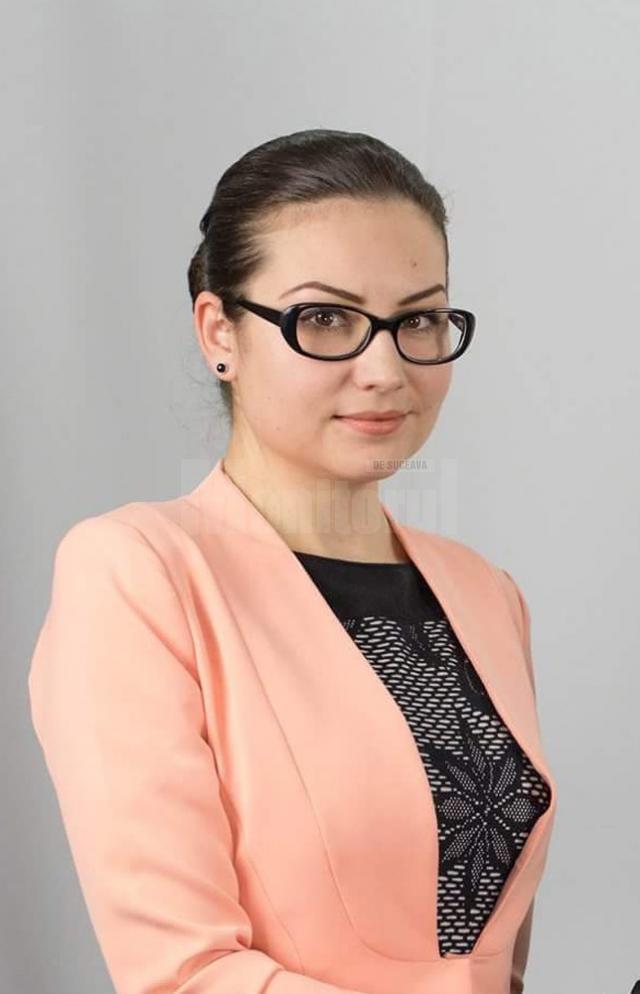 Anca Gâtlan, unul dintre candidaţii Mişcării Populare pentru Consiliul Local Suceava