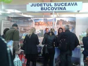 Peste 2.500 de persoane au vizitat standul Bucovinei amenajat la Târgul de Turism al României