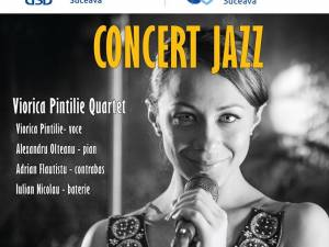 Concert de jazz cu Viorica Pintilie, la Universitatea Suceava