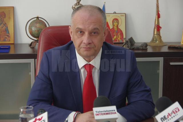 Noul preşedinte al Organizaţiei Judeţene Suceava a Alianţei Liberalilor şi Democraţilor (ALDE), deputatul Alexandru Băişanu