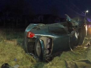 Accidentul de pe 24 februarie, pe DJ 178, în comuna Volovăţ, în care un tânăr de 17 ani şi-a pierdut viaţa