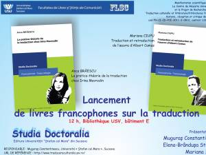 Lansare de volume francofone