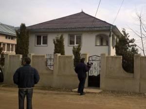 Casa în care s-a petrecut tragedia