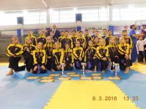 Sportivii clubului sucevean au avut o comportare foarte bună la Campionatul Naţional de la Roman