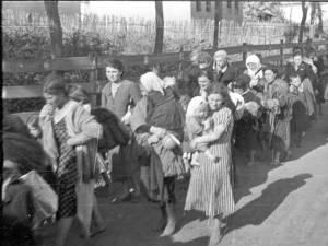 Evrei deportaţi în Transnistria. Foto: Wikipedia