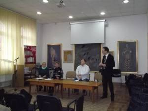 "Simpozionul ""Taras Şevcenko, un spirit romantic"", la Biblioteca Bucovinei"